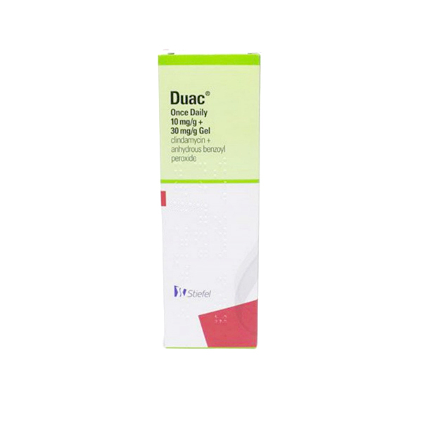 DUAC Once Daily medication gel