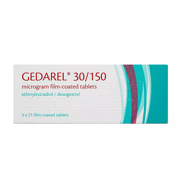 Gedarel medication packs